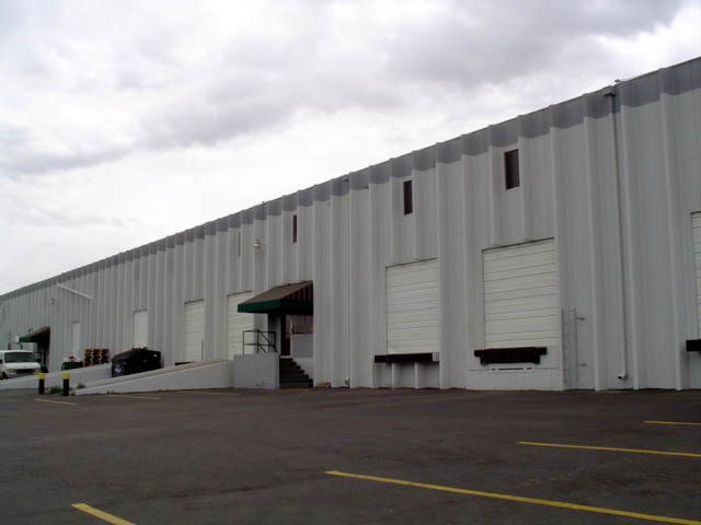Commercial Metal Building Painting